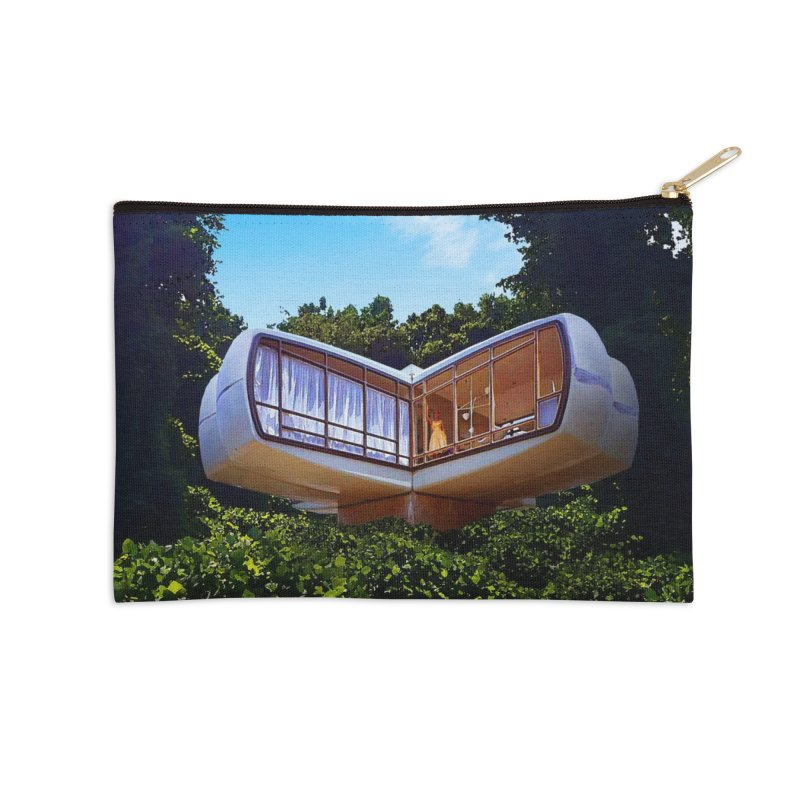 The House of the Future Accessories Zip Pouch by Chris Williams' Artist Shop