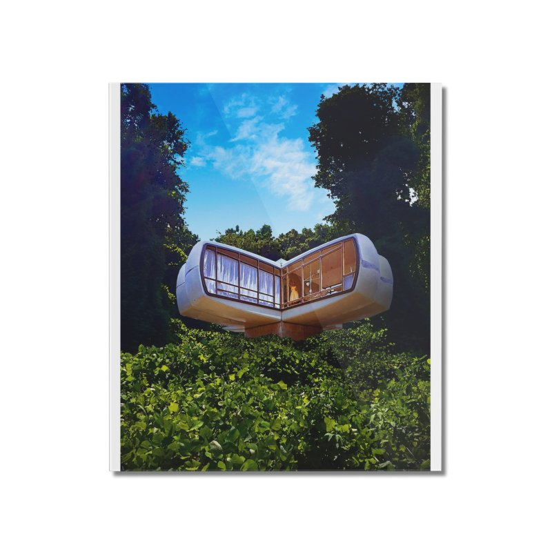 The House of the Future Home Mounted Acrylic Print by Chris Williams' Artist Shop