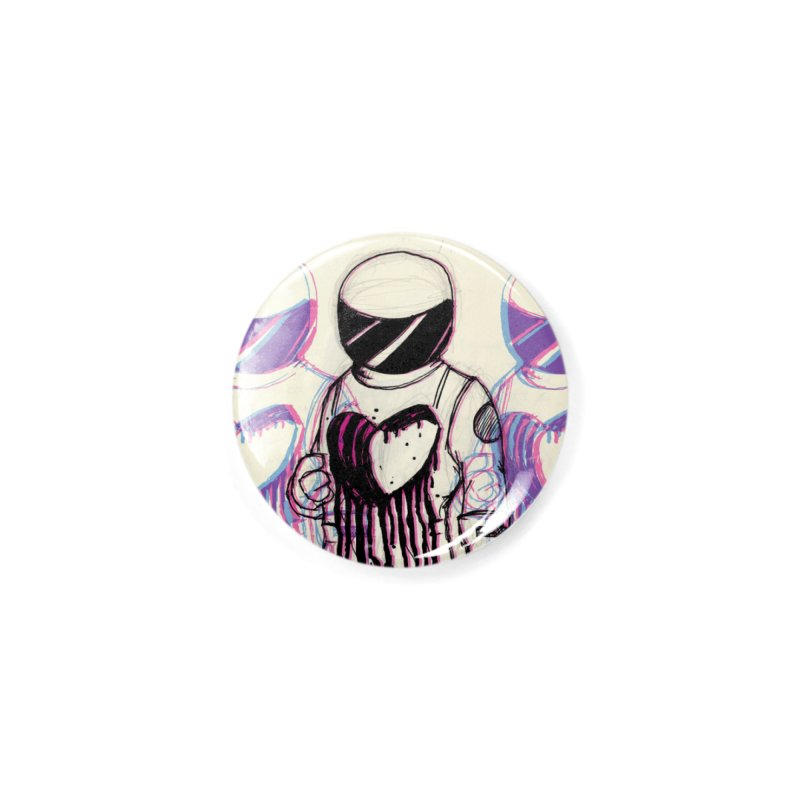 Lost Love Accessories Button by Chris Williams' Artist Shop