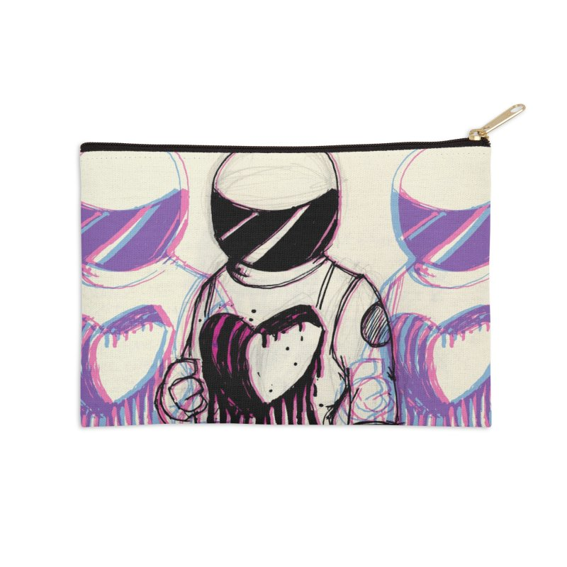 Lost Love Accessories Zip Pouch by Chris Williams' Artist Shop