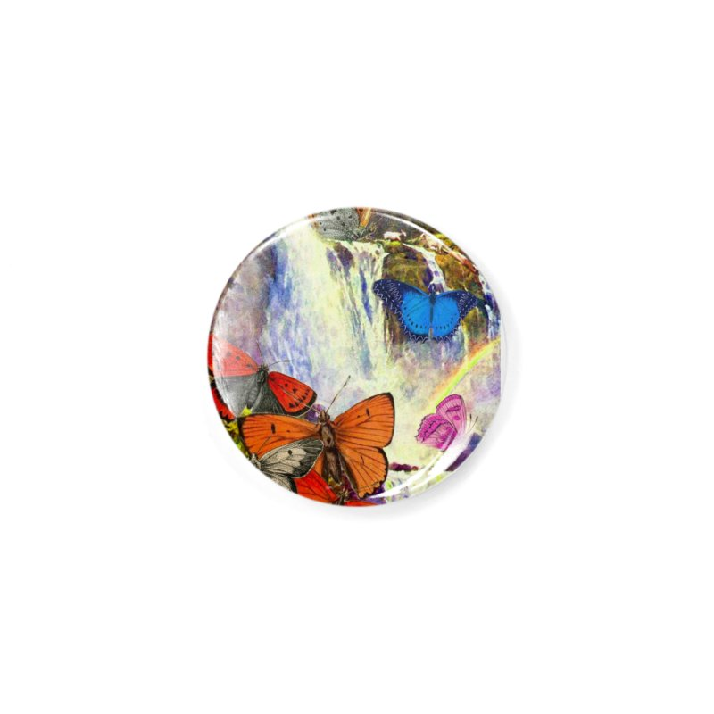 Summer Vacation Accessories Button by Chris Williams' Artist Shop