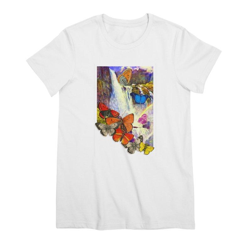 Summer Vacation Women's Premium T-Shirt by Chris Williams' Artist Shop