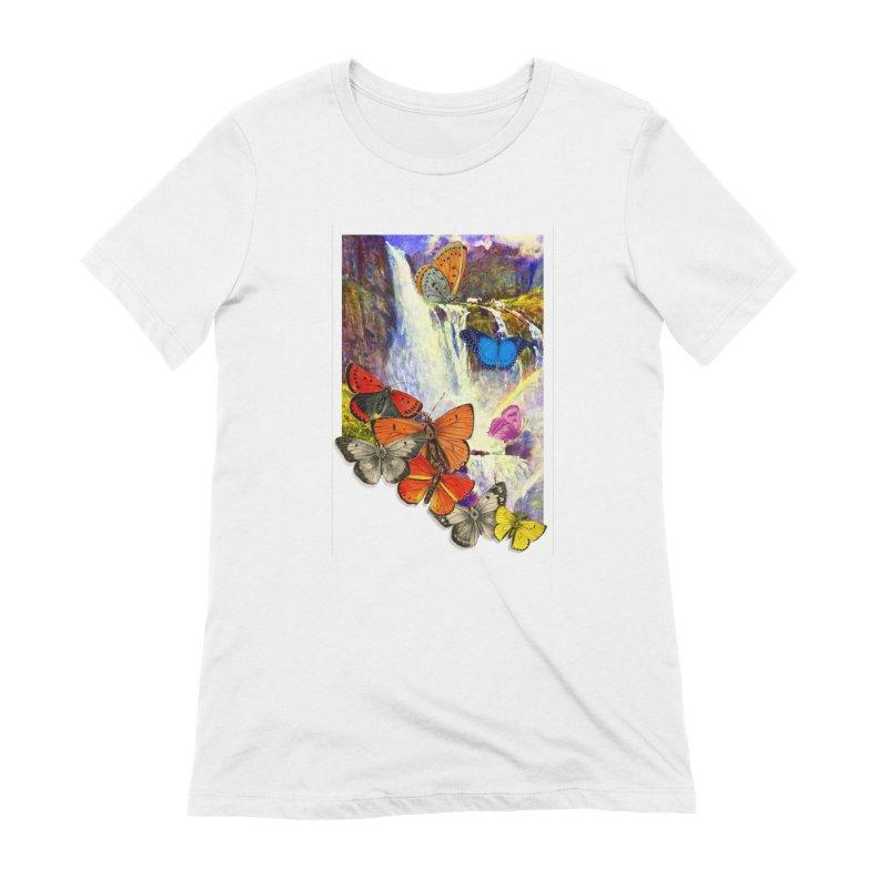 Summer Vacation Women's Extra Soft T-Shirt by Chris Williams' Artist Shop