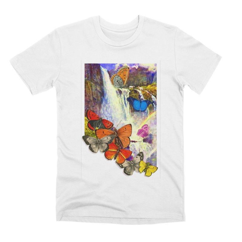 Summer Vacation Men's Premium T-Shirt by Chris Williams' Artist Shop