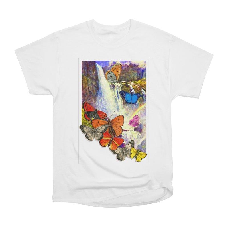 Summer Vacation Men's Heavyweight T-Shirt by Chris Williams' Artist Shop