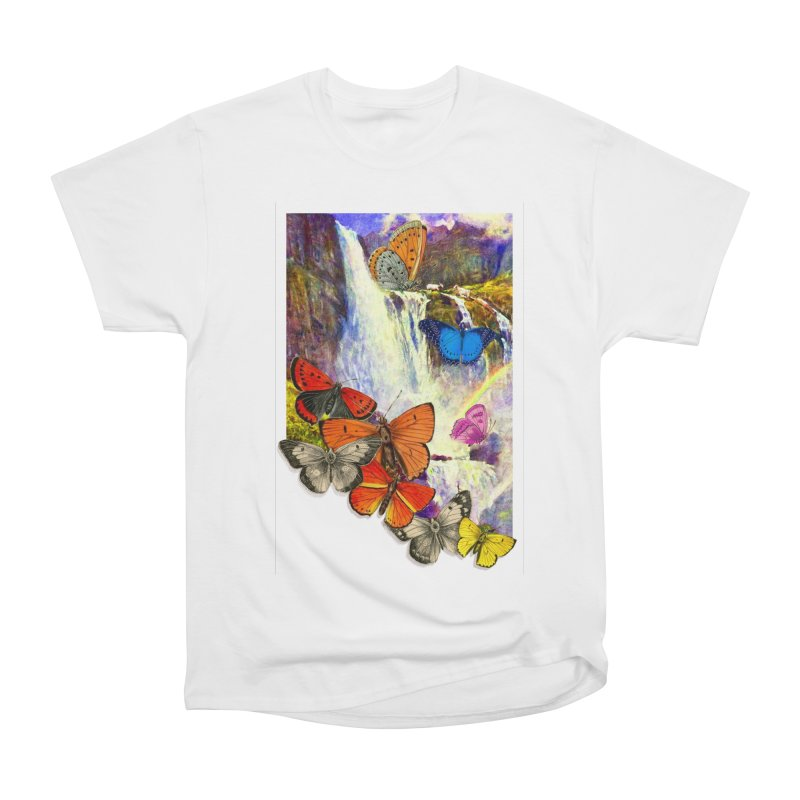 Summer Vacation Women's Heavyweight Unisex T-Shirt by Chris Williams' Artist Shop