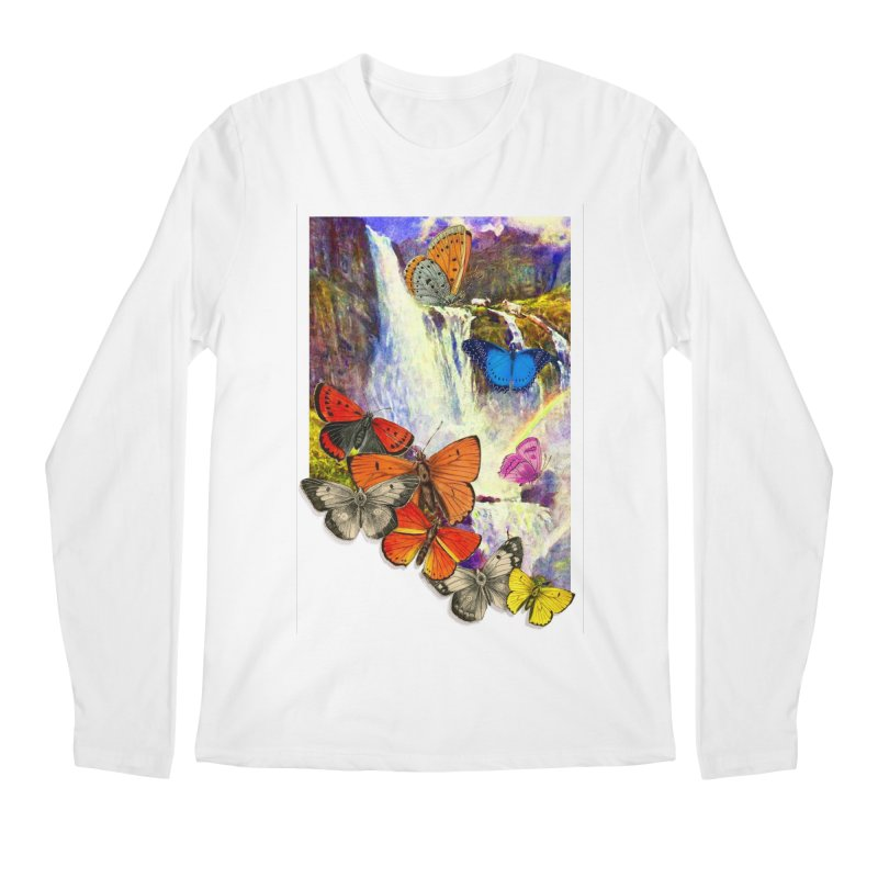 Summer Vacation Men's Regular Longsleeve T-Shirt by Chris Williams' Artist Shop