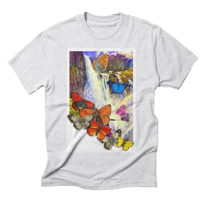 Summer Vacation Men's Triblend T-Shirt by Chris Williams' Artist Shop