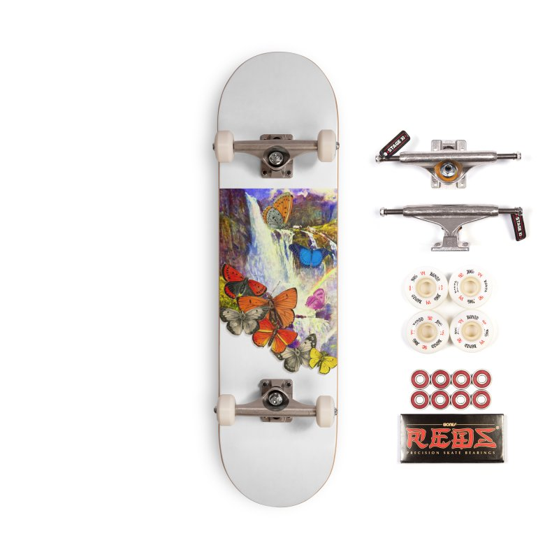 Summer Vacation Accessories Complete - Pro Skateboard by Chris Williams' Artist Shop