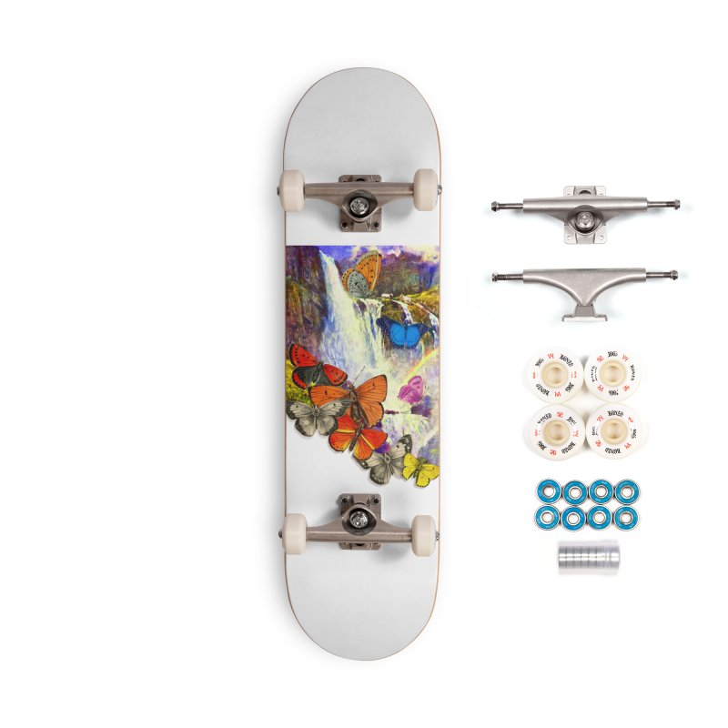 Summer Vacation Accessories Complete - Premium Skateboard by Chris Williams' Artist Shop
