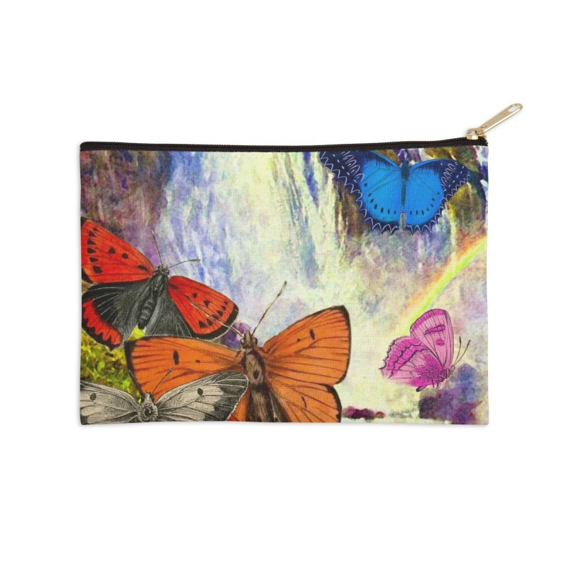 Summer Vacation Accessories Zip Pouch by Chris Williams' Artist Shop