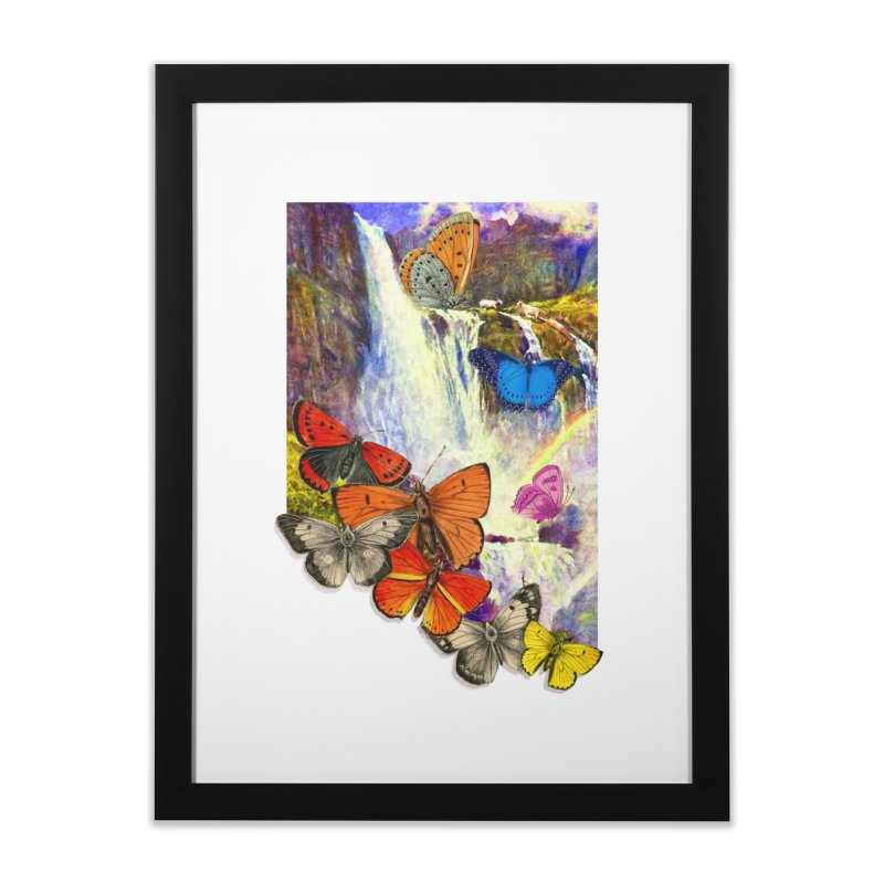 Summer Vacation Home Framed Fine Art Print by Chris Williams' Artist Shop