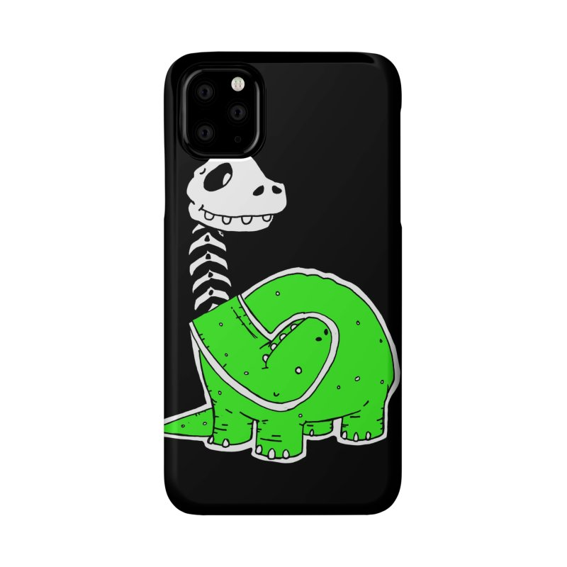 Cropped Dino Accessories Phone Case by Chris Williams' Artist Shop