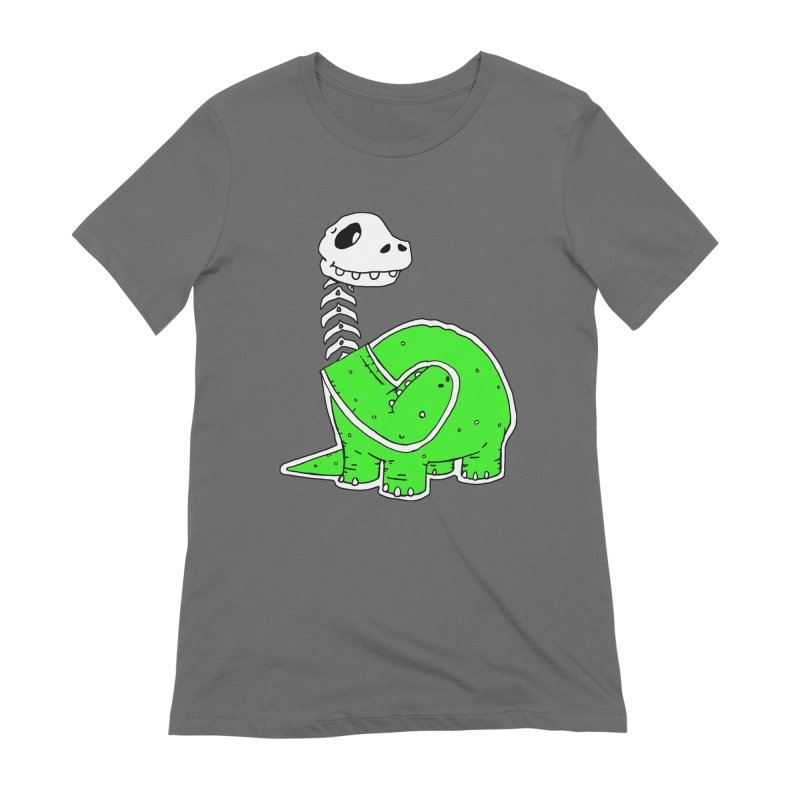 Cropped Dino Women's Extra Soft T-Shirt by Chris Williams' Artist Shop
