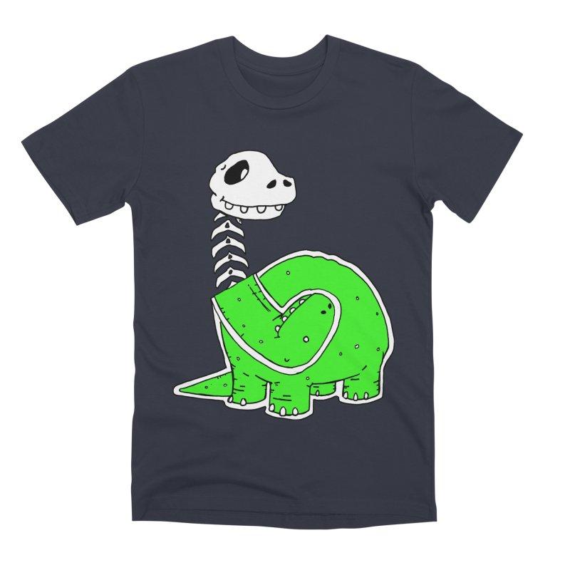 Cropped Dino Men's Premium T-Shirt by Chris Williams' Artist Shop