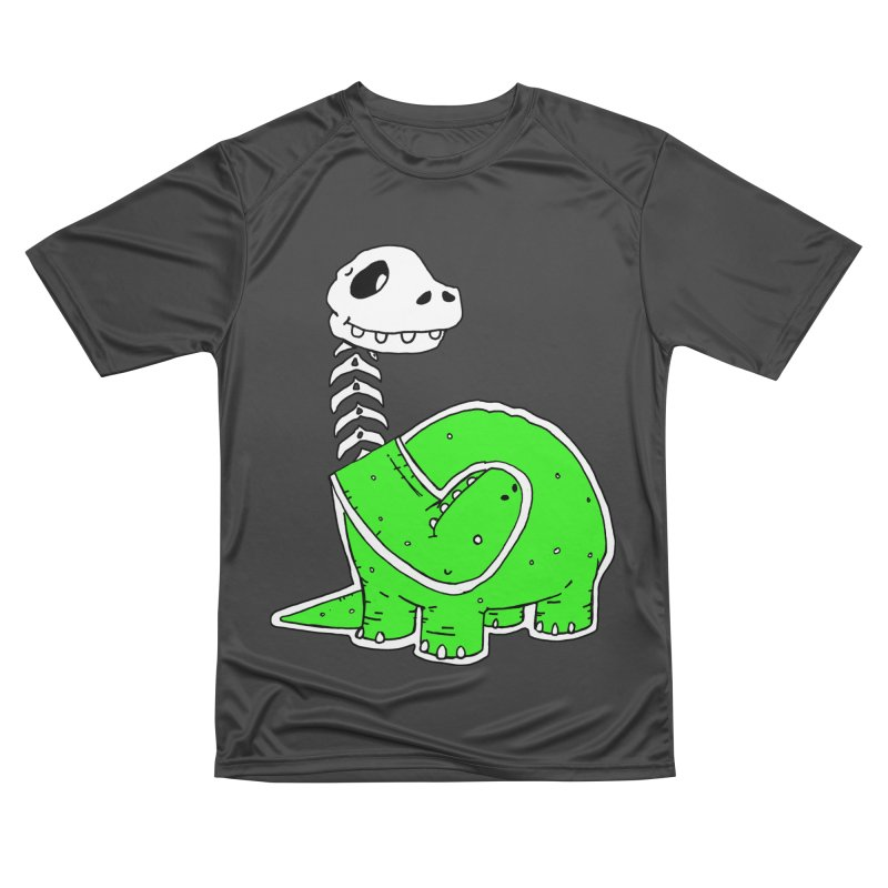 Cropped Dino Men's Performance T-Shirt by Chris Williams' Artist Shop