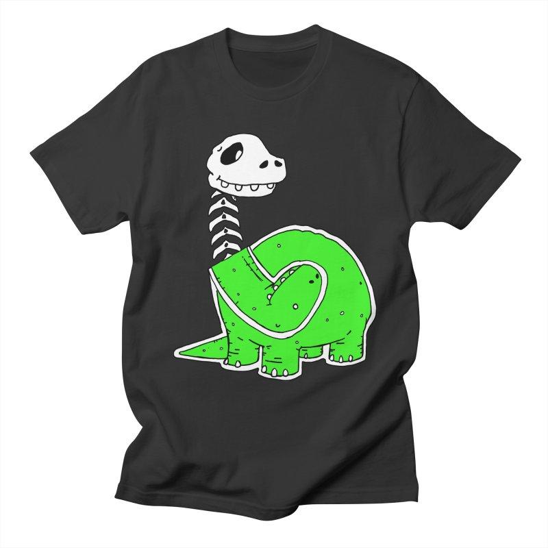 Cropped Dino Men's Regular T-Shirt by Chris Williams' Artist Shop