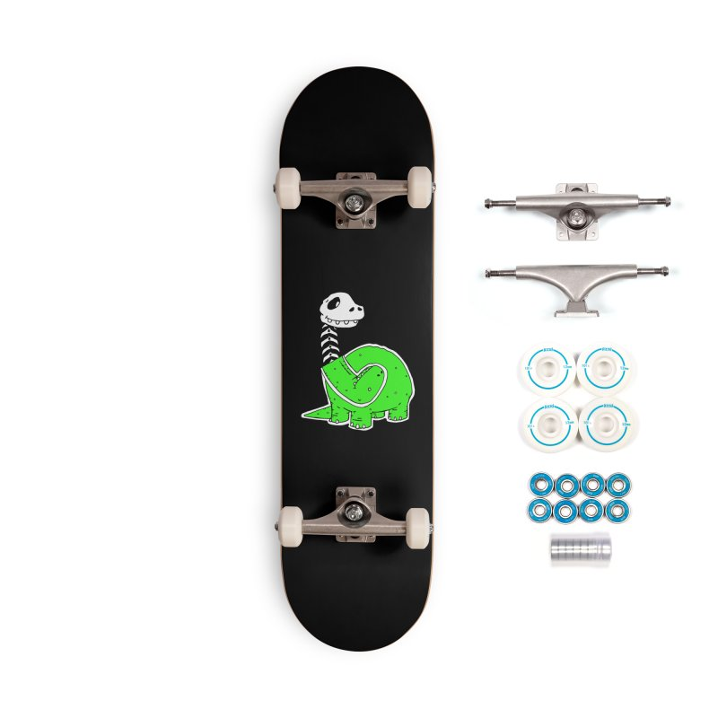 Cropped Dino Accessories Complete - Basic Skateboard by Chris Williams' Artist Shop