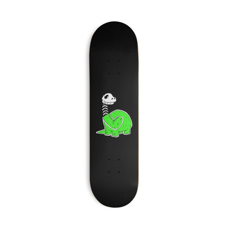 Cropped Dino Accessories Deck Only Skateboard by Chris Williams' Artist Shop