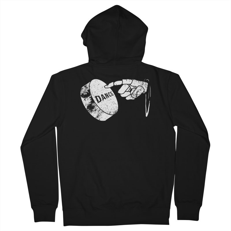 Dance! Men's French Terry Zip-Up Hoody by Chris Williams' Artist Shop