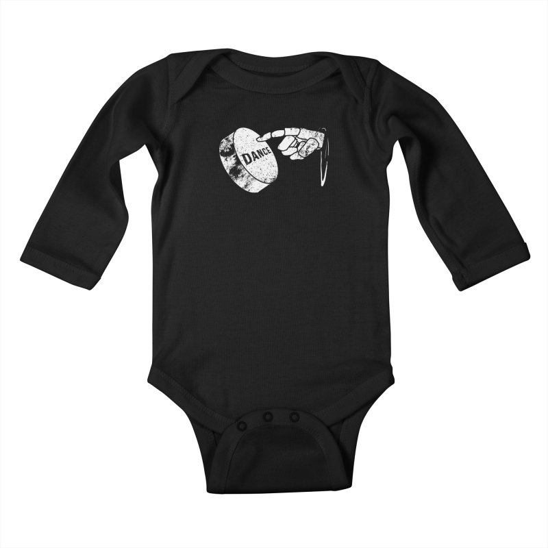 Dance! Kids Baby Longsleeve Bodysuit by Chris Williams' Artist Shop