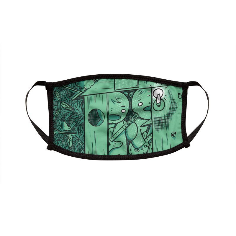 When We Get to Play Again Accessories Face Mask by Chris Williams' Artist Shop