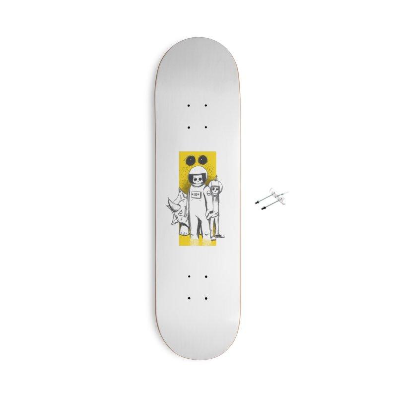 Pilot Accessories Skateboard by Chris Williams' Artist Shop
