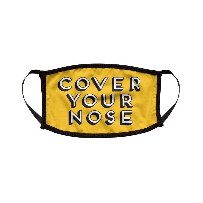 Polite Reminder Accessories Face Mask by Chris Williams' Artist Shop