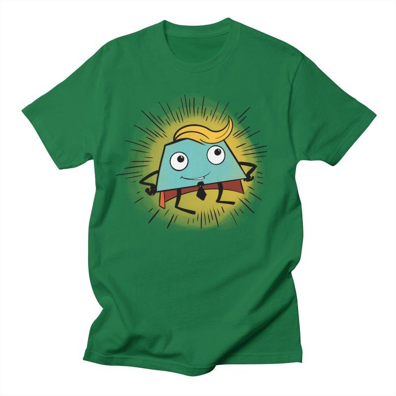 Business Trapezoid Men's T-Shirt by Chris Williams' Artist Shop