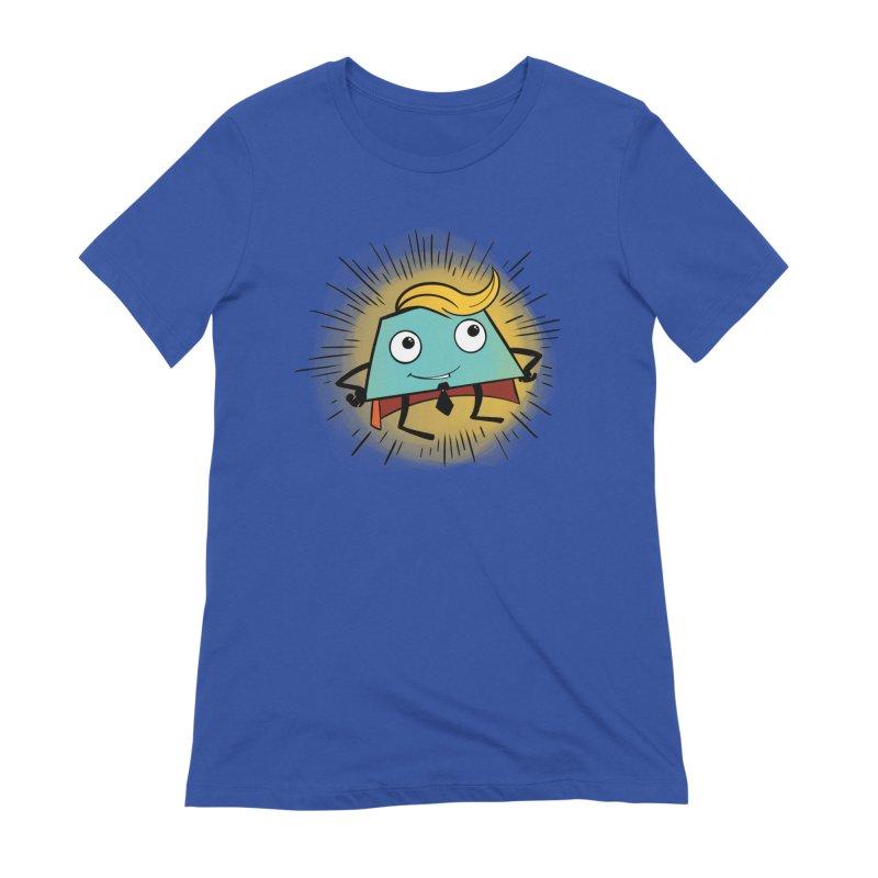 Business Trapezoid Women's T-Shirt by Chris Williams' Artist Shop