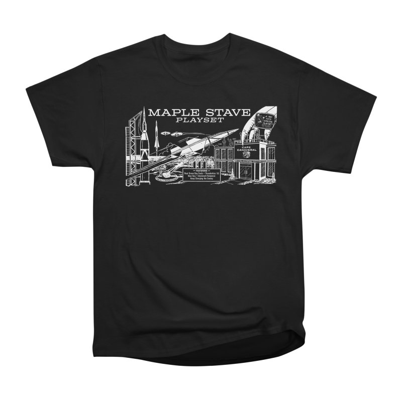 Maple Stave, the Playset Men's T-Shirt by Chris Williams' Artist Shop