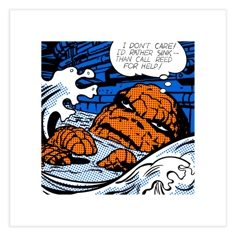 Drowning Thing Home Fine Art Print by Chris Williams' Artist Shop