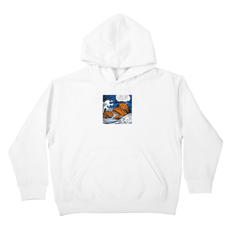 Drowning Thing Kids Pullover Hoody by Chris Williams' Artist Shop
