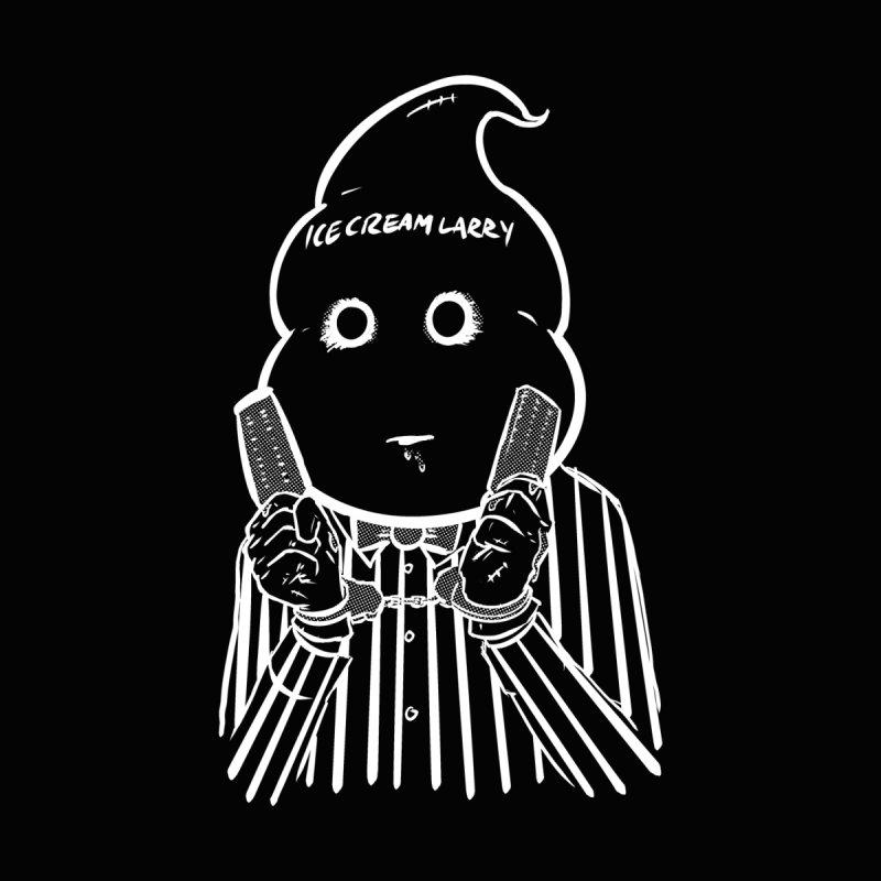 Ice Cream Larry Men's T-Shirt by Chris Williams' Artist Shop