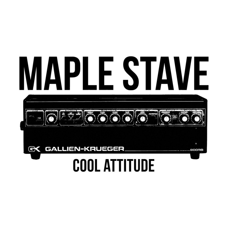 Maple Stave • Cool Attitude Accessories Skateboard by Chris Williams' Artist Shop