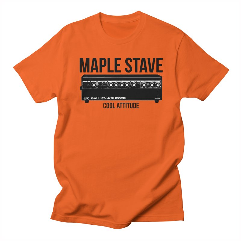 Maple Stave • Cool Attitude Men's T-Shirt by Chris Williams' Artist Shop