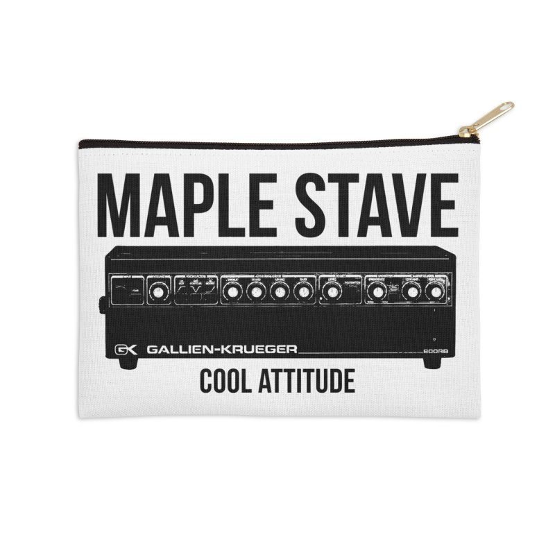 Maple Stave • Cool Attitude Accessories Zip Pouch by Chris Williams' Artist Shop