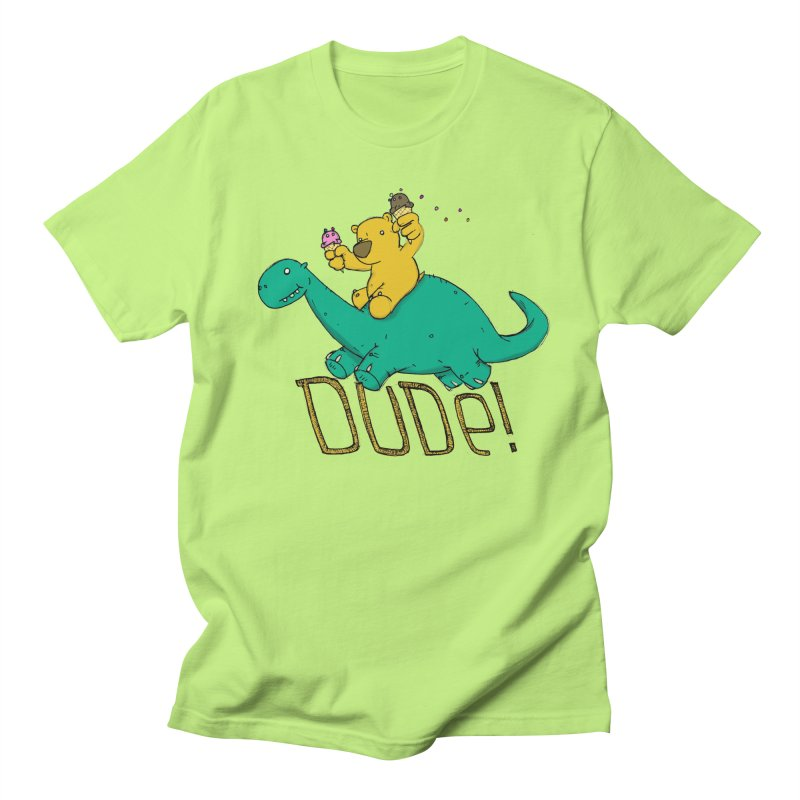 Dude! Men's T-Shirt by Chris Williams' Artist Shop