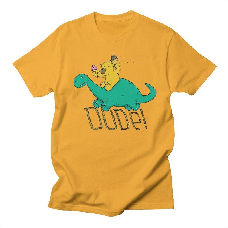 Dude! Men's T-Shirt by Chris Williams' Artist Shop