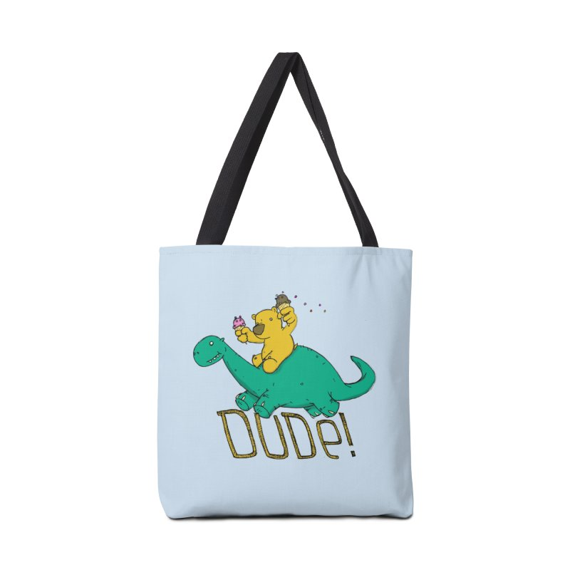 Dude! Accessories Tote Bag Bag by Chris Williams' Artist Shop