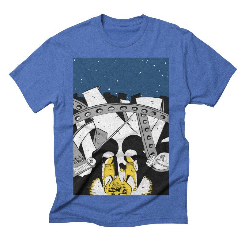 Let's Party Men's Triblend T-shirt by Chris Williams' Artist Shop