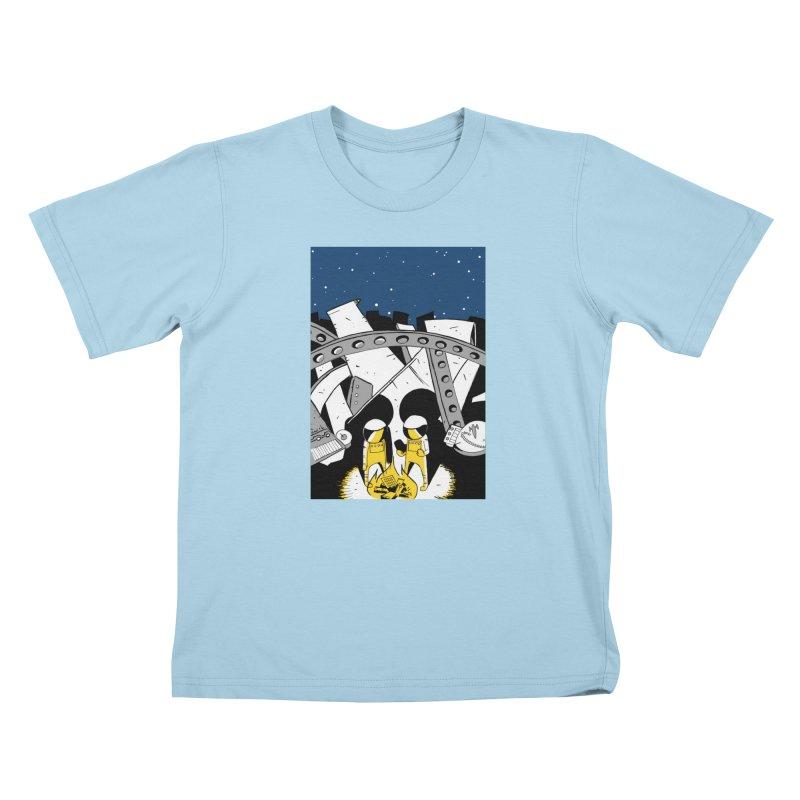 Let's Party Kids T-Shirt by Chris Williams' Artist Shop