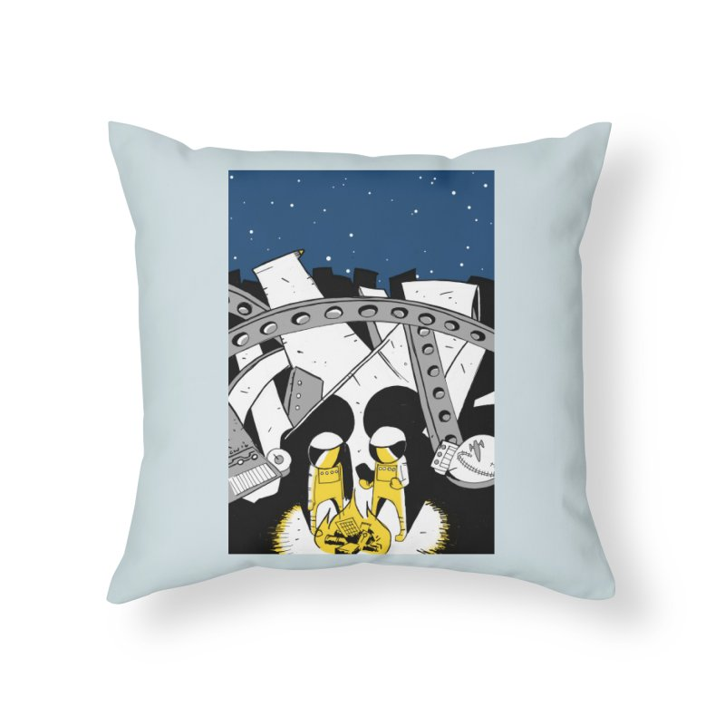 Let's Party Home Throw Pillow by Chris Williams' Artist Shop