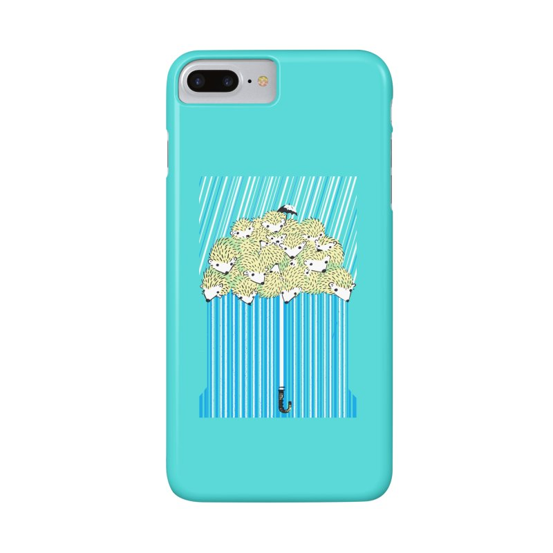 Hedgehog Umbrella Accessories Phone Case by Chris Williams' Artist Shop