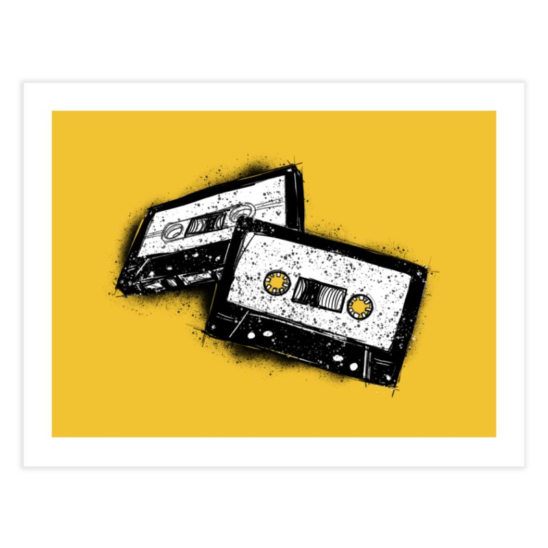 Tape Age Home Fine Art Print by Chris Williams' Artist Shop