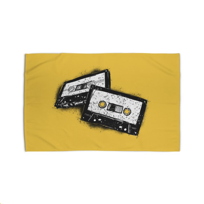 Tape Age Home Rug by Chris Williams' Artist Shop