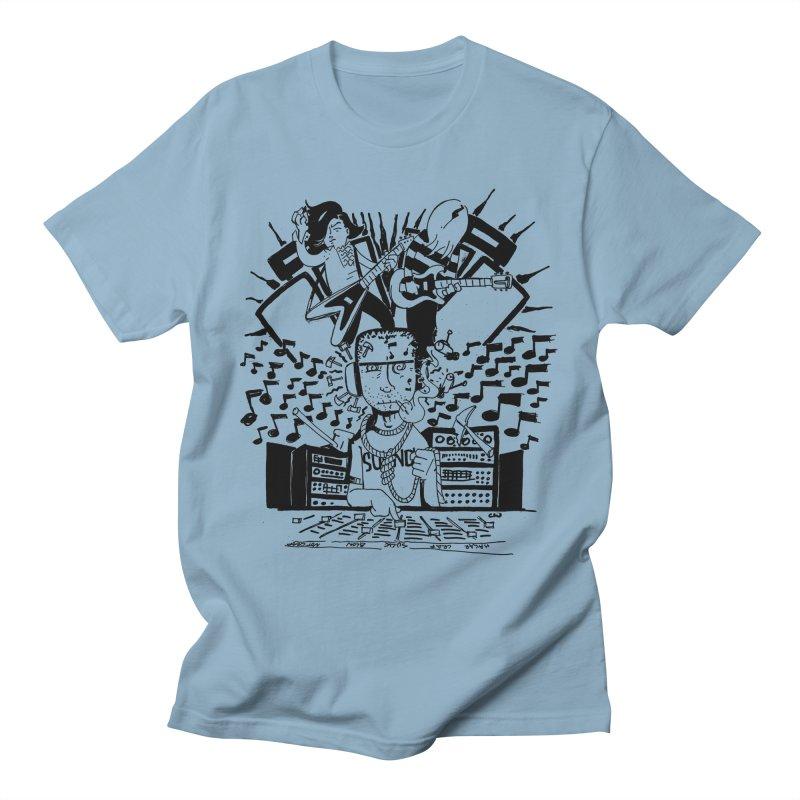 Soundguy Men's T-Shirt by Chris Williams' Artist Shop