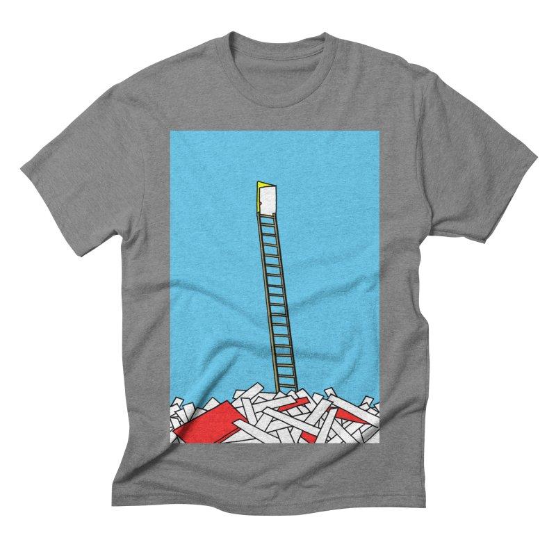 Pile Men's Triblend T-shirt by Chris Williams' Artist Shop