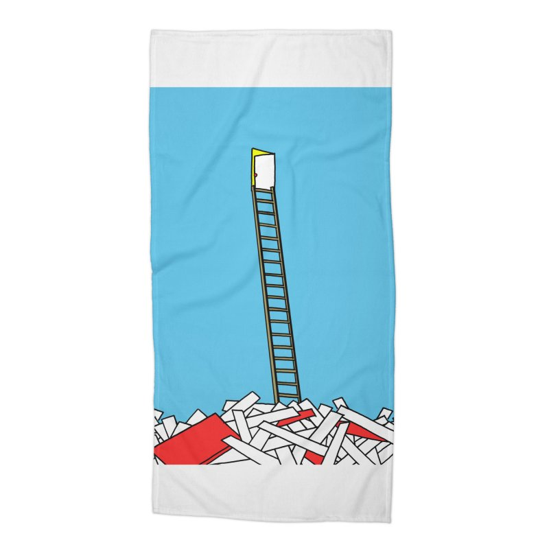 Pile Accessories Beach Towel by Chris Williams' Artist Shop