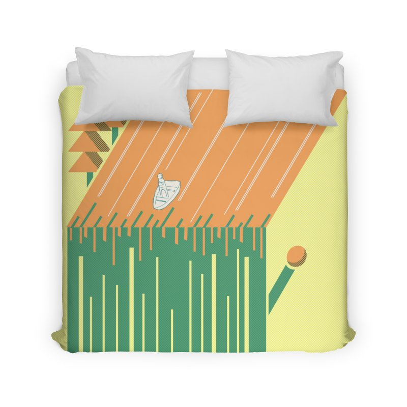 Fire & Water Home Duvet by Chris Williams' Artist Shop